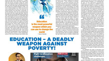 EDUCATION -  a powerful weapon against poverty!