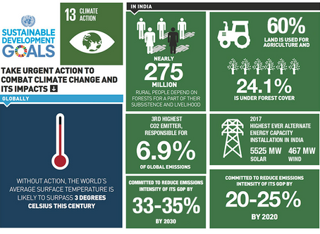 India's stance on SDG 13: Climate Change
