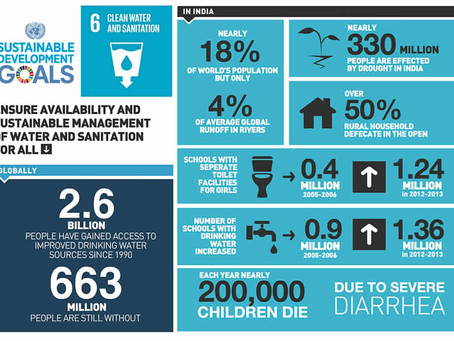 India's stance on SDG 6: Clean Water and Sanitation
