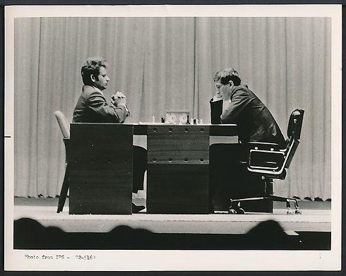 Fischer Spassky 03081972 WK Reykjavik.jp