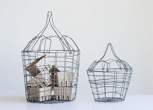 Wire Egg Basket Set