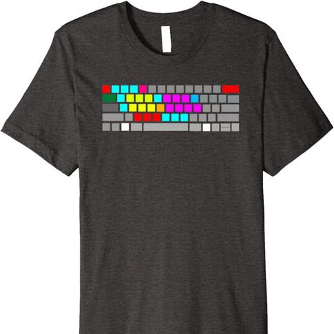 Editors Keyboard Shirt