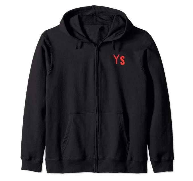 YeagerShots YS Logo Zip Up Hoodie
