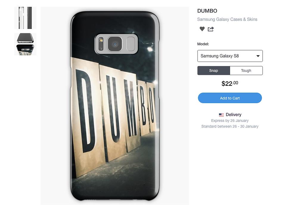 DUMBO Phone Case