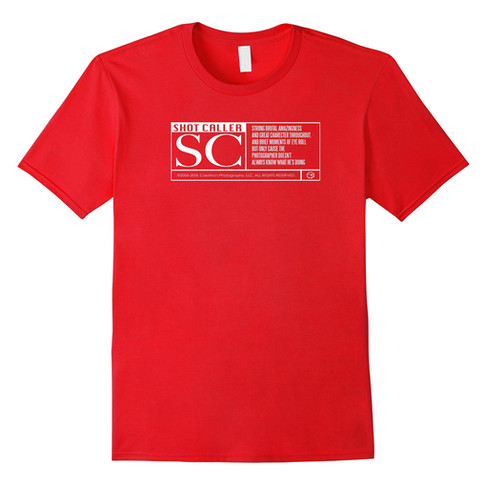 "Shot Caller ""Rated SC"" T-shirt"