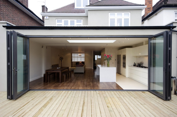 Copy of Alutech Systems BF73 bifold door