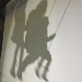 Swings and shadows, London 2018