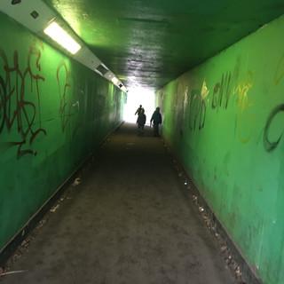 Tunnel vision, London 2017