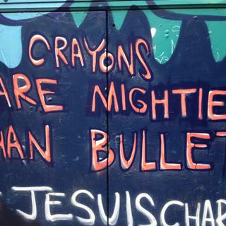 Crayons, London 2015