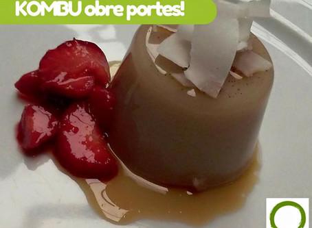 Restaurant KOMBU Obre les seves portes!
