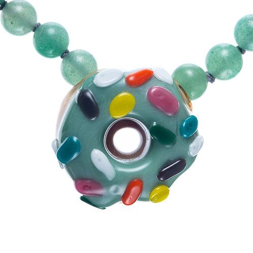 KGB Glass Donut x WeedGadget jewelry
