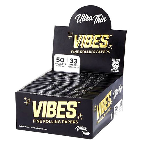 Vibes Papers King Size Slim Ultra Thin (50 pieces)