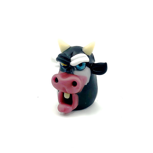 Morrison Glass cow Pendant
