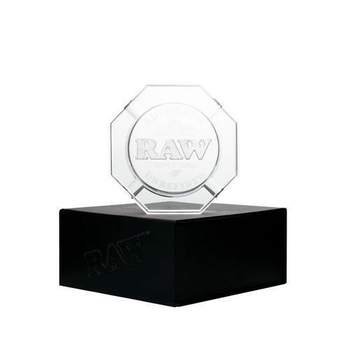 Heavy Duty Crystal Glass Ashtray by RAW