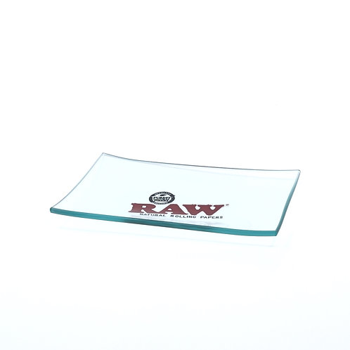 Mini Double Thick GLASS Rolling Tray