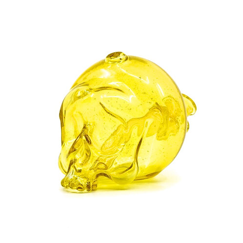 Marty Preston skull rig transparent yellow