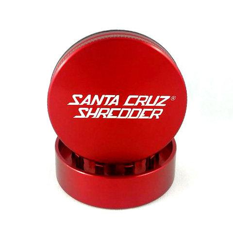 Large SantaCruz Shredder Gloss Red Grinder 2 Pieces