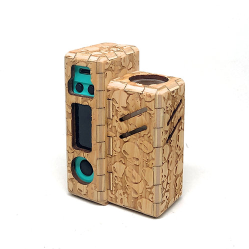 TUBO EVIC pinewood skull customization