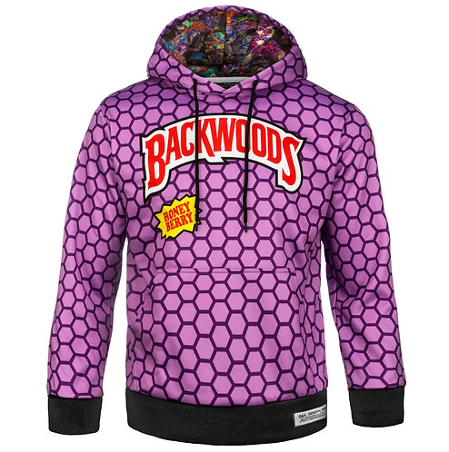 BACKWOODS HOODIE HONEY BERRY