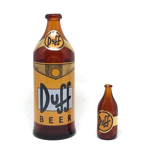 Nerveglass Duff Beer bubbler + bubble cap