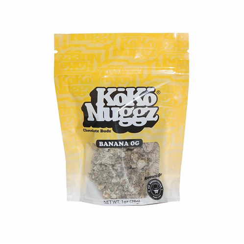 KOKO NUGGZ Chocolate Budz  banana og