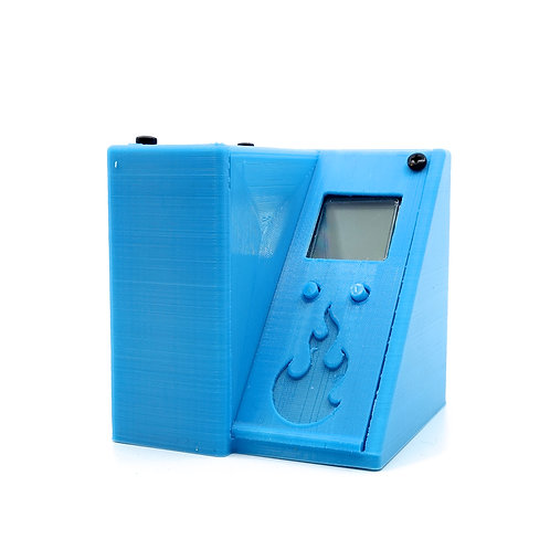 3D12 light blue thermometer