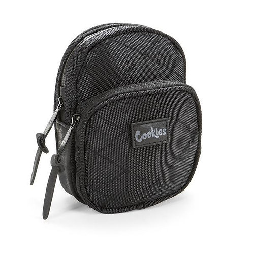 Cookies Mini Quilted Smell Proof Packs black