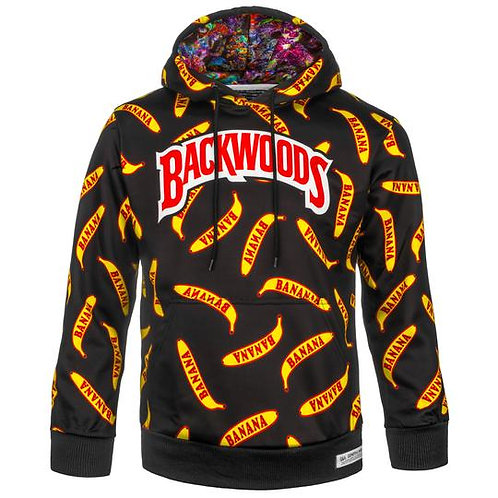 BACKWOODS HOODIE BLACK BANANA