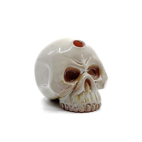 Carsten glass mini skull
