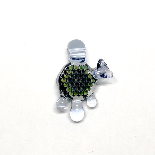 Joe p micro glass pendant