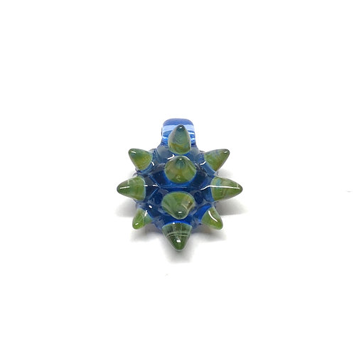 Porter Glass spike turtle glass pendant