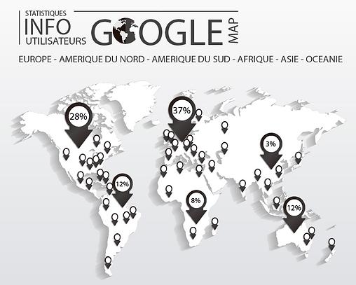 Statistiques Google des utilisateurs de Jamaican Stone en Europe