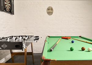 The White House games room
