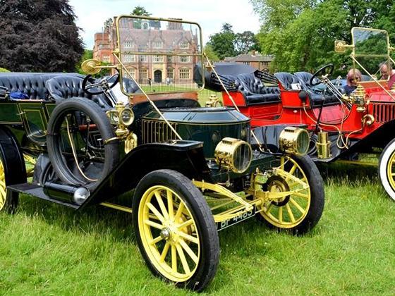 Classic vehicle display