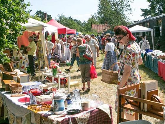 Heydon summer vintage fair