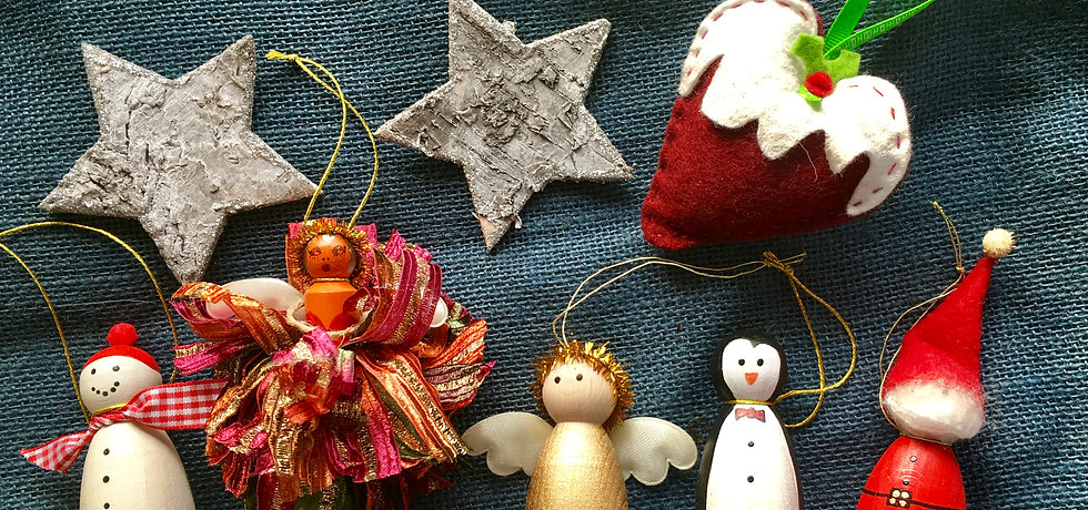 The Wallflower & Wallace - Christmas decorations workshop