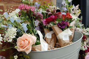 The Wallflower & Wallace - rustic posies