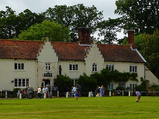 Award-winning Earle Arms pub