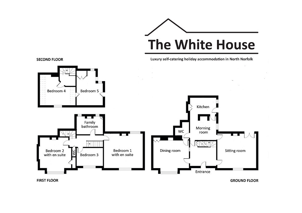 The White House floor layout plan