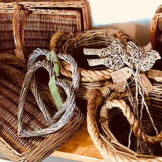 The Wallflower & Wallace - baskets