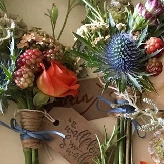 The Wallflower & Wallace - wedding buttonholes
