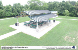 Gold Star Pavilion - Jefferson Barracks - St Louis-MO (Shelter)
