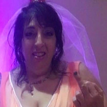 Traci as Connie Mocogni in a production of Tony N Tina's Wedding