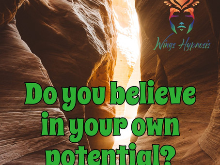 Do You Believe In Your Own Potential?