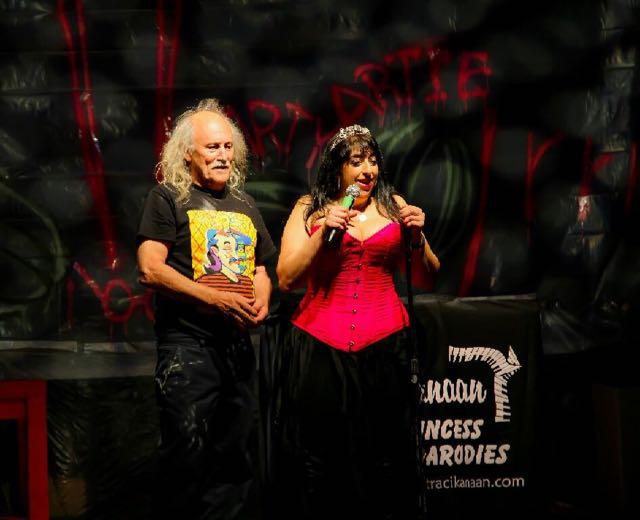 Gallagher and Traci Kanaan