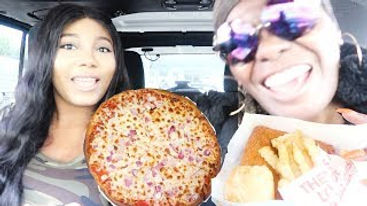 🍕PIZZA_MUKBANG_STORYTIME_CHATTING_WITH_