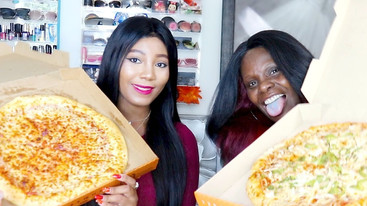 CHIT CHAT PIZZA MUKBANG STORYTIME RAMBLE