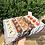 Thumbnail: (עוגת מספר 1) תחתית קרטון מכסה שקוף חיצוני וקרטון פנימי 35-25-7 ס״מ