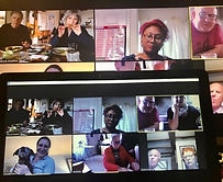 Mayor Blog - Virtual Curry Night with members of the Community, being together through technology during this lock down.