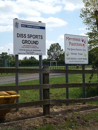 Diss sports ground